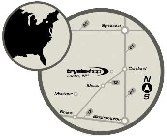 Map of the Tryals Shop location. Click to view additional detail.